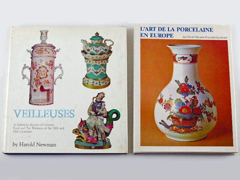 2 Livros sobre porcelana