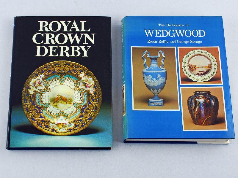 2 Livros sobre a porcelana inglesa