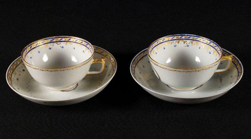 Par de Chávenas em Porcelana da China