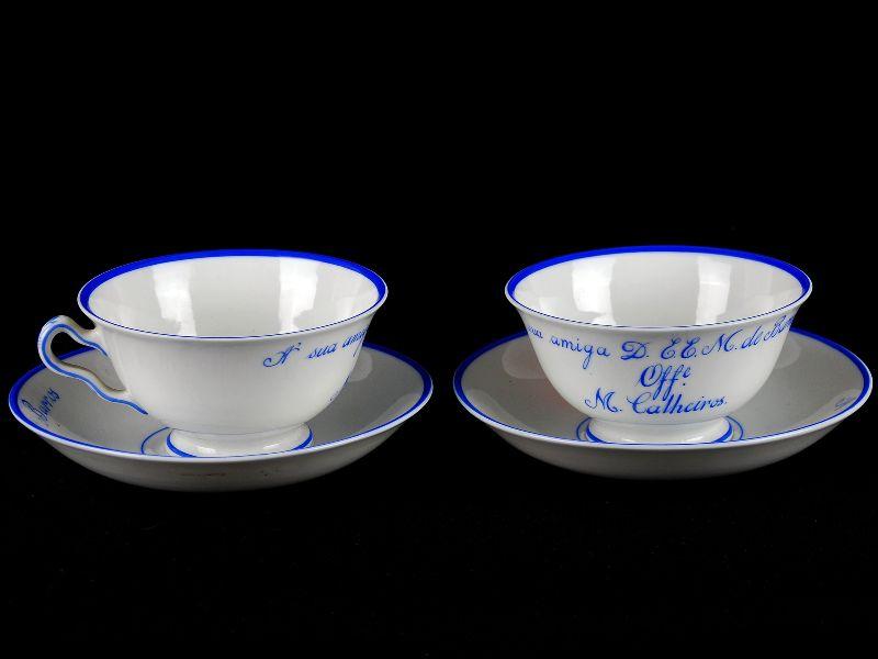 2 Conjuntos em Porcelana da Vista Alegre