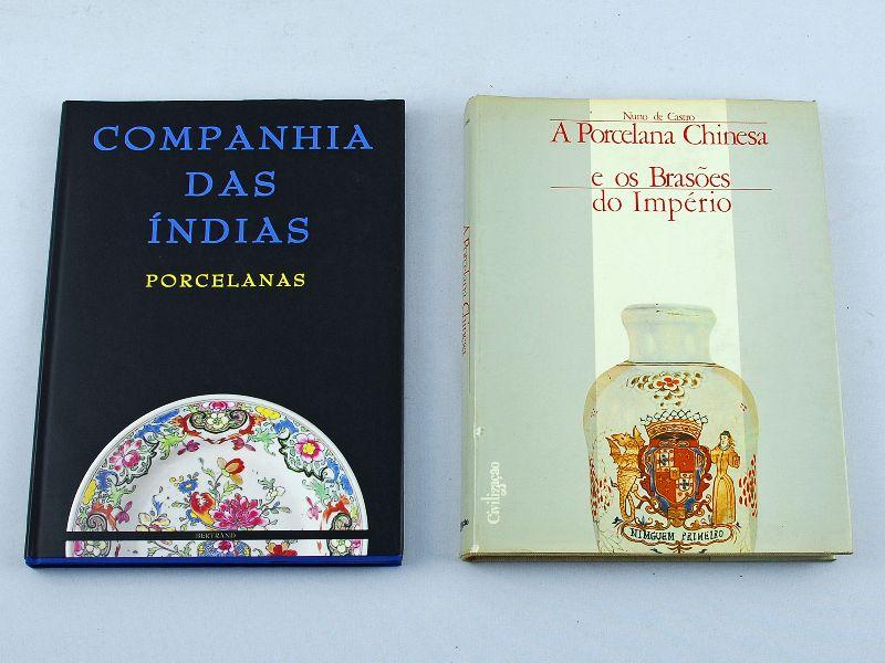 2 Livros sobre a Porcelana da China
