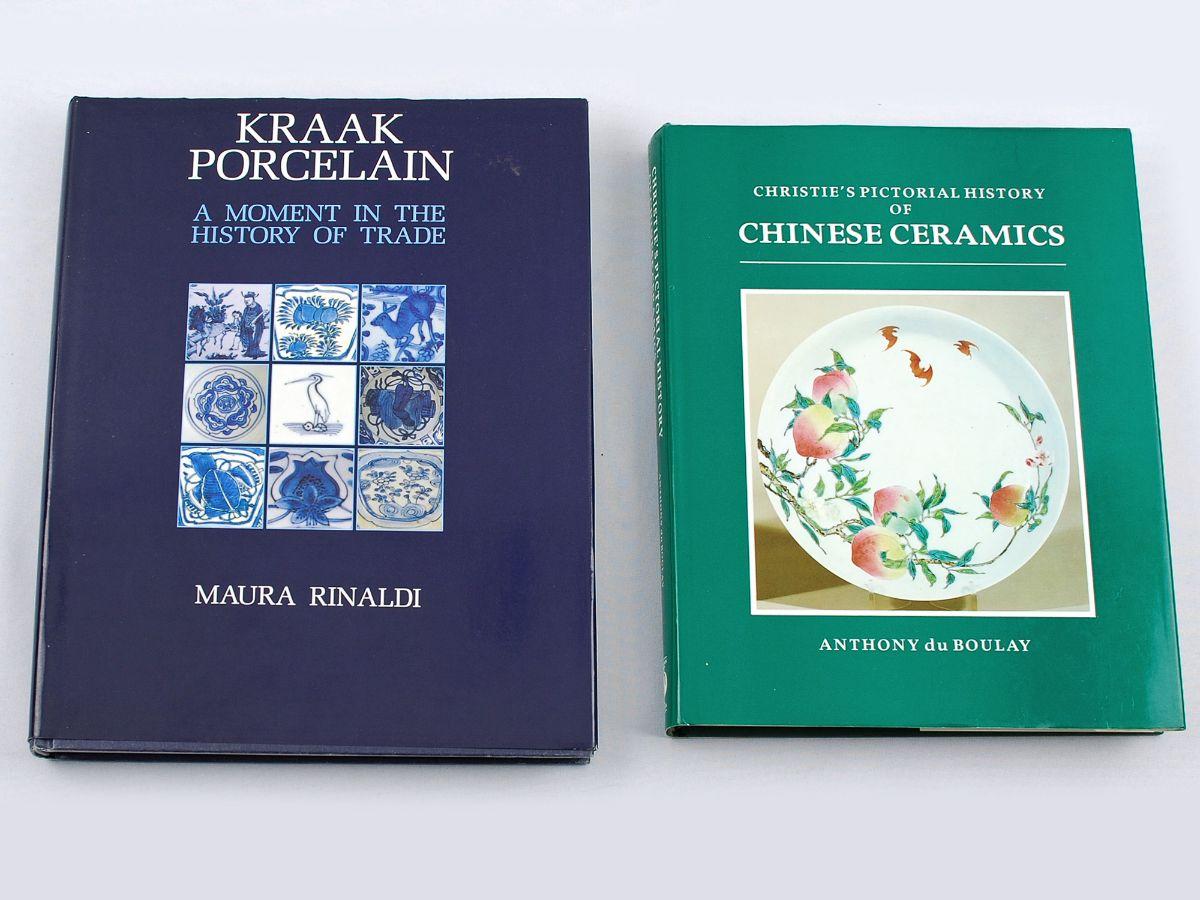 2 Livros sobre Porcelana Chinesa