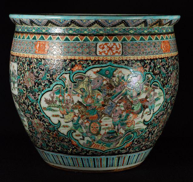Aquário Chinês em Porcelana