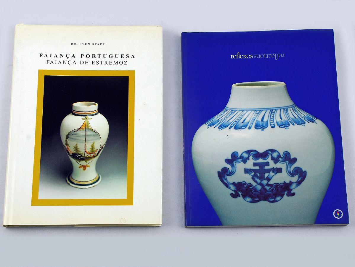 2 Livros sobre Faiança / Porcelana