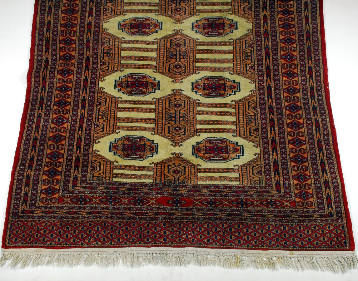 lote tapete oriental turco bokhara bestnet leil es