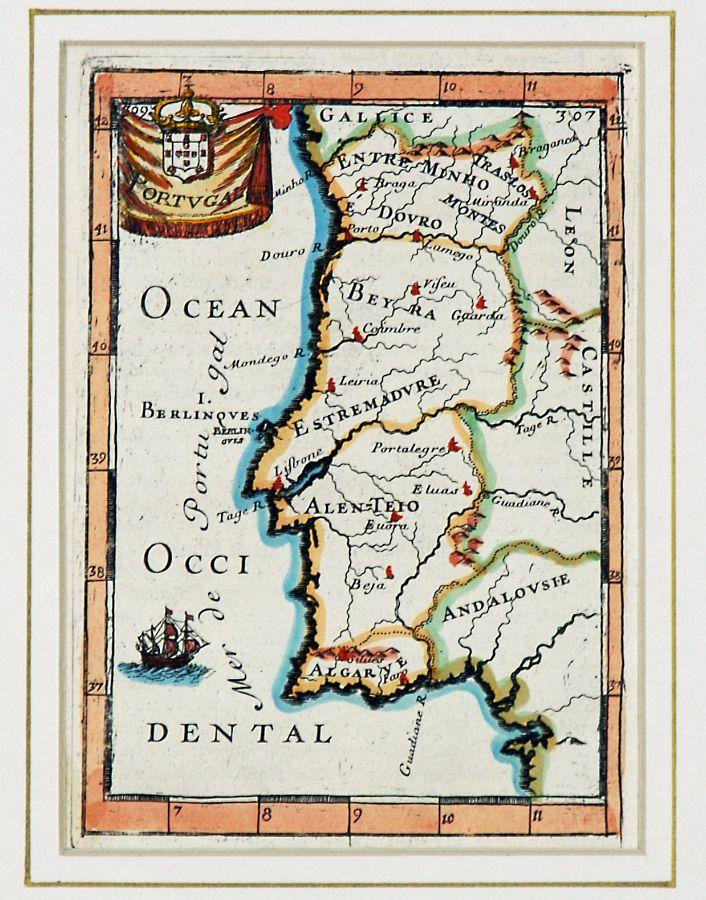 portugal mapa antigo Lote   Mapa de Portugal antigo | BestLeilões portugal mapa antigo
