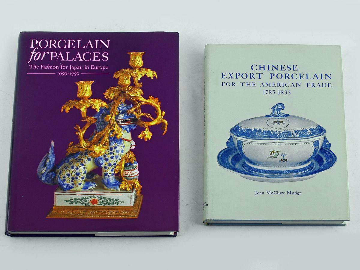 2 Livros sobre a porcelana Oriental
