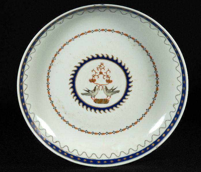 Par de Covilhetes em Porcelana Companhia das Indias