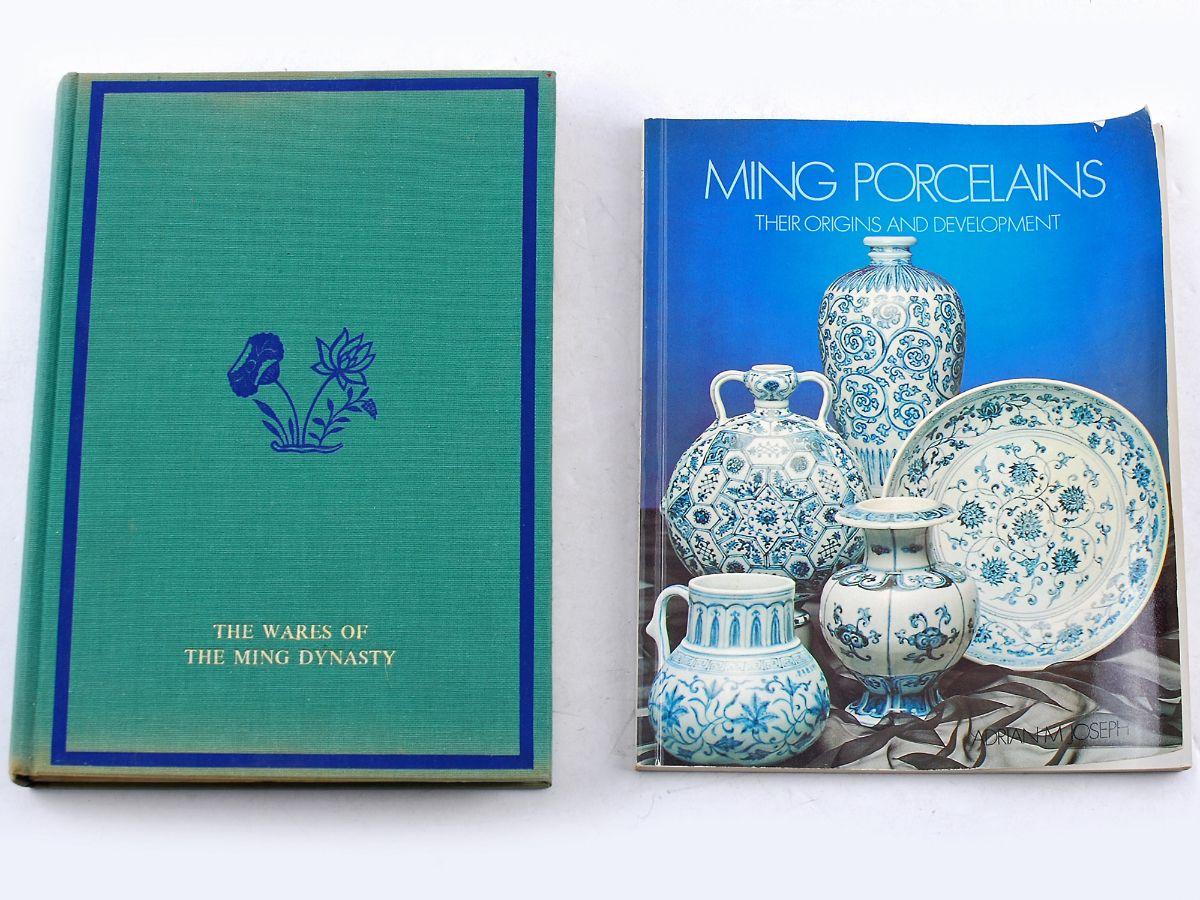 2 Livros sobre a Porcelana Ming
