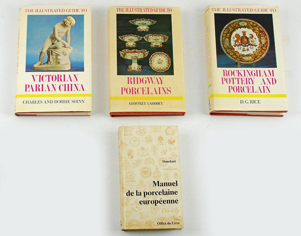 4 Livros sobre porcelana