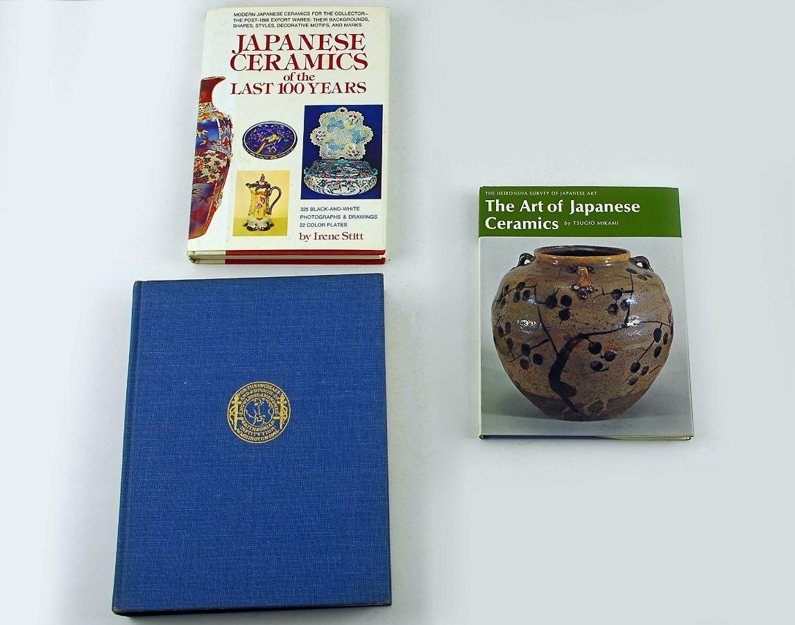 3 Livros sobre a Porcelana/Cerâmica