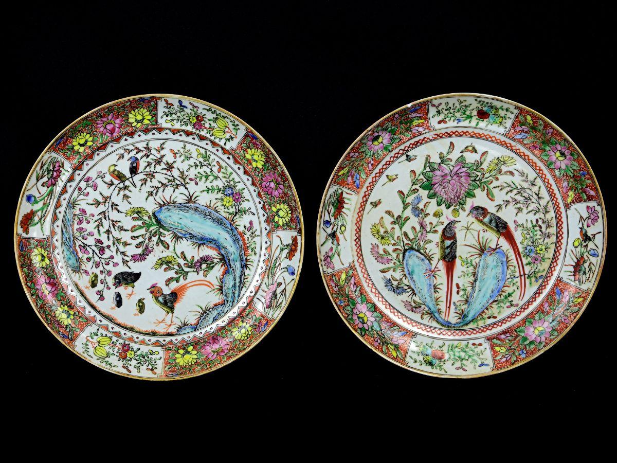 2 Pratos em porcelana da China