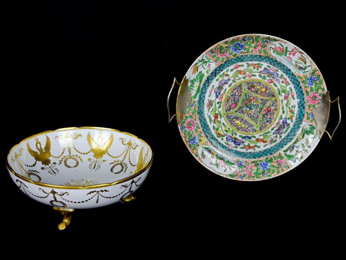2 Peças em Porcelana