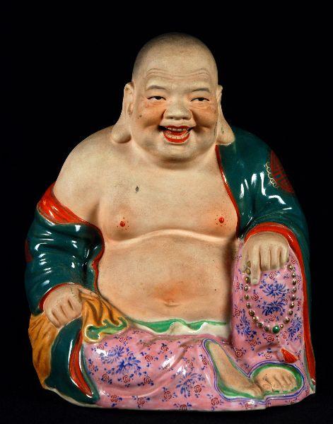 Buda em Porcelana Oriental