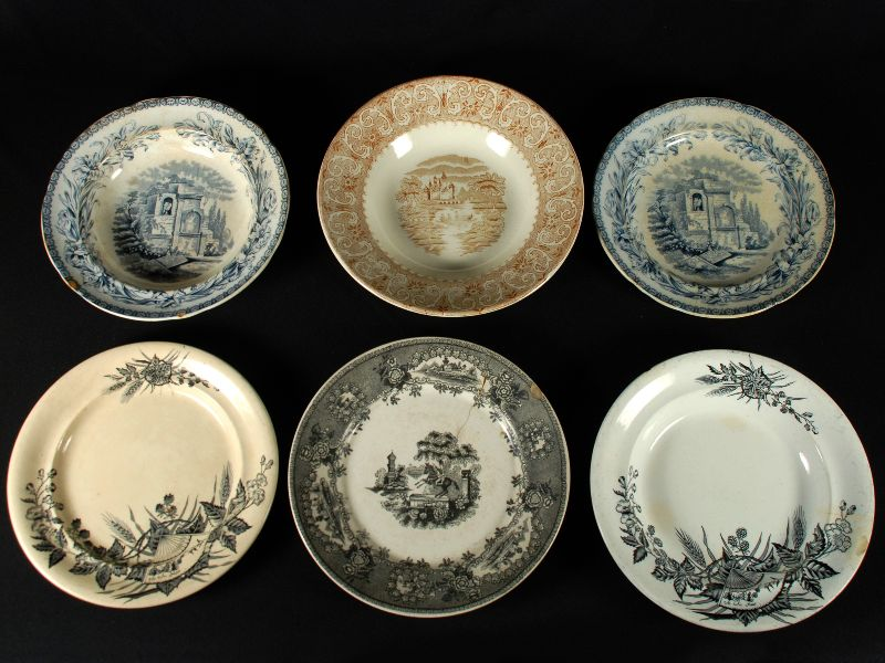 Lote de 12 Peças de Porcelana e Faianças