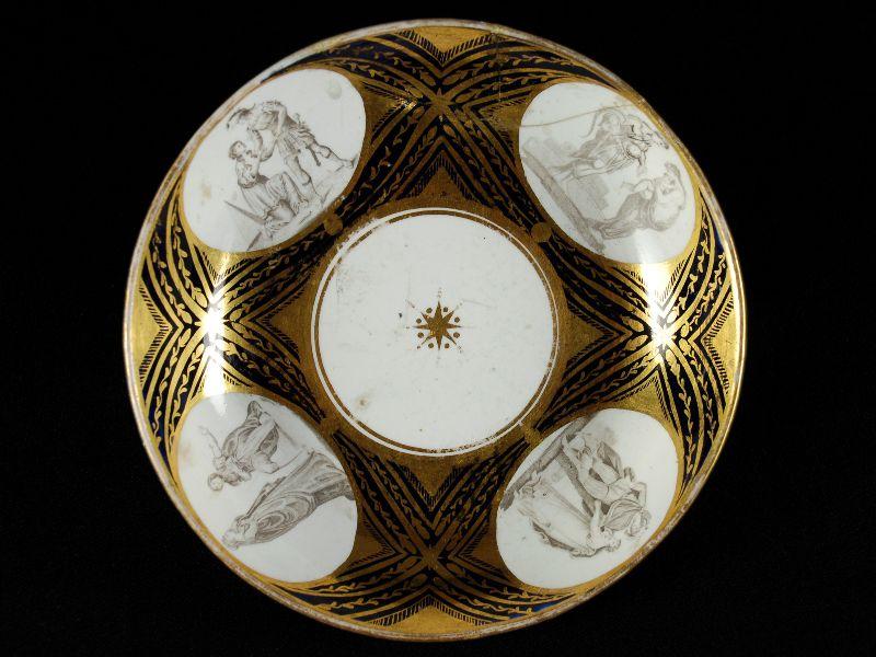 Pequena covilhete em Porcelana