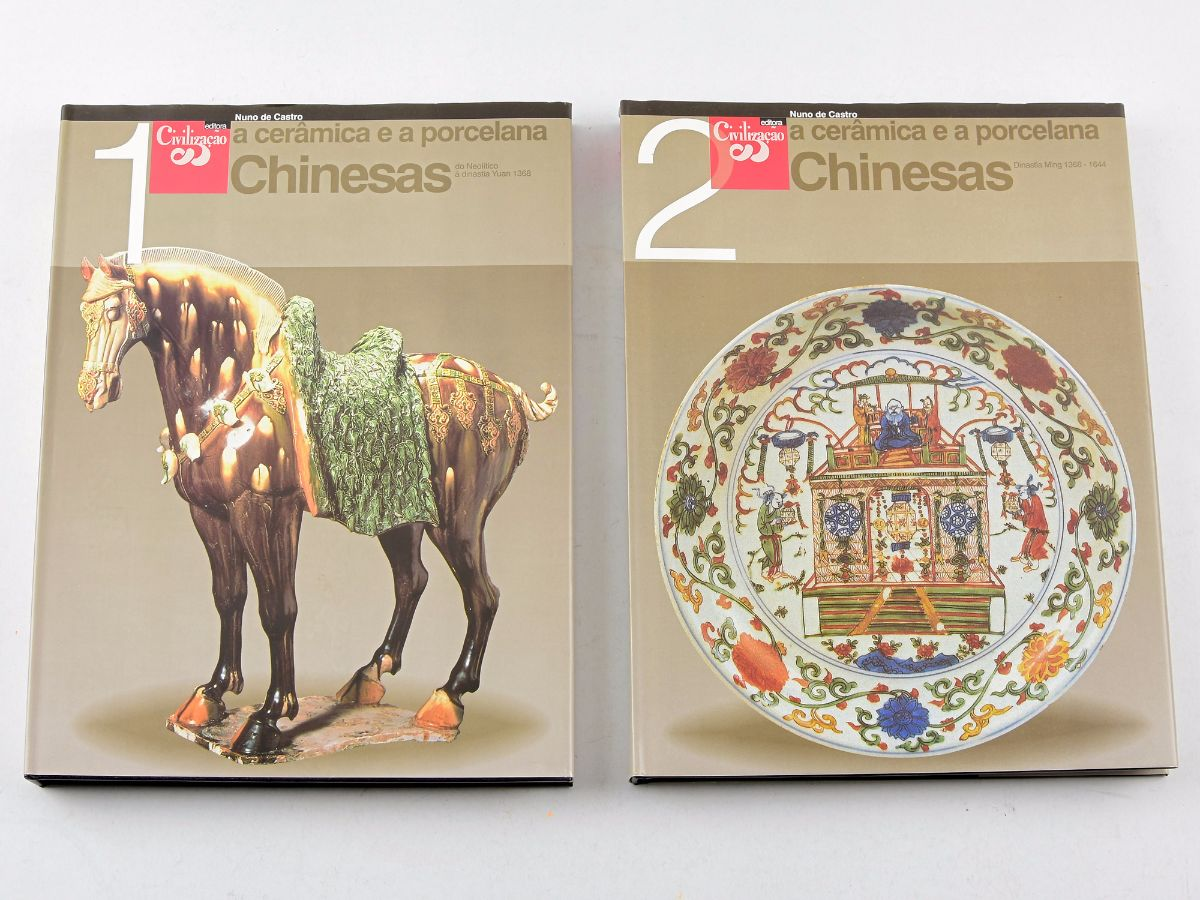 A Cerâmica e a Porcelana Chinesas