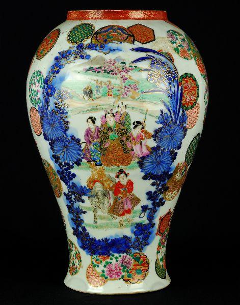 Jarrão em Porcelana do Japão