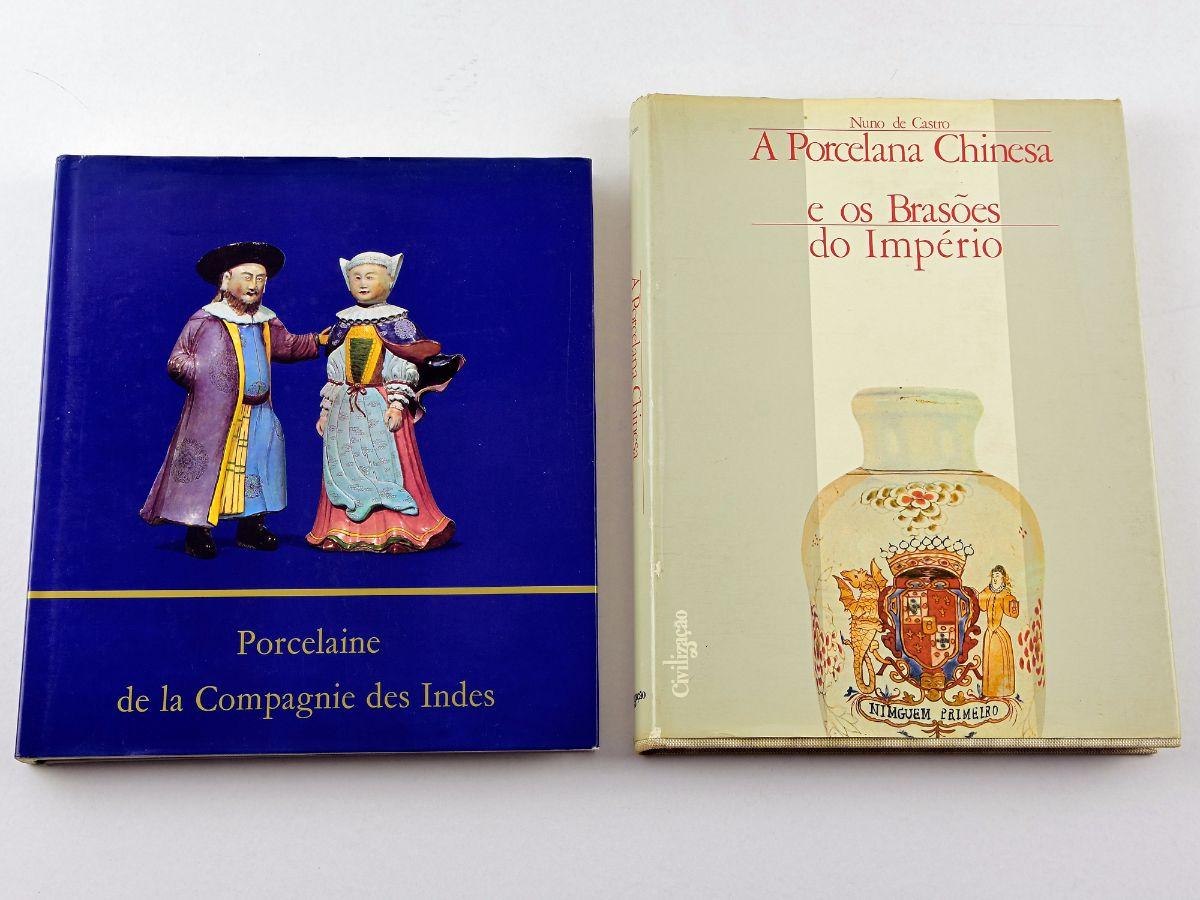 2 Livros sobre a Porcelana Chinesa
