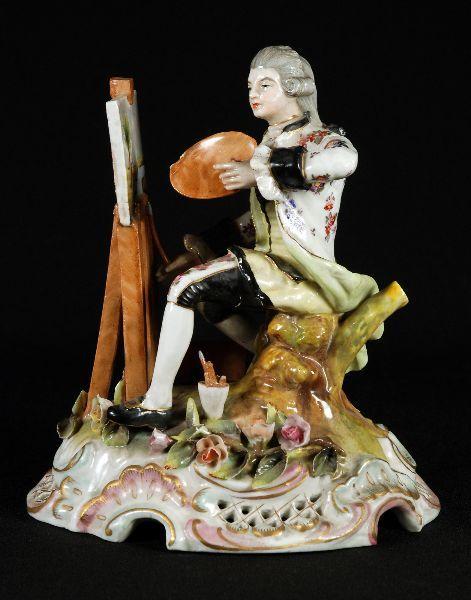 Escultura em Porcelana Alemã