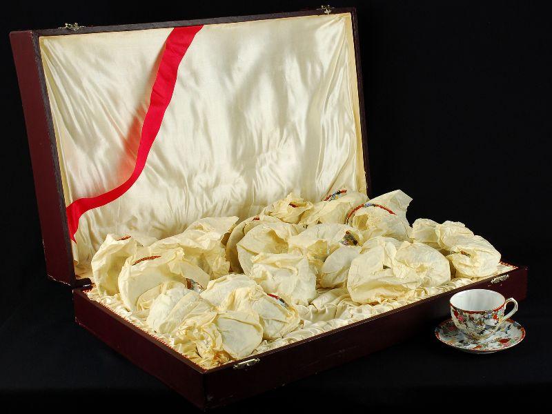 Serviço de Chá em Porcelana Japonesa