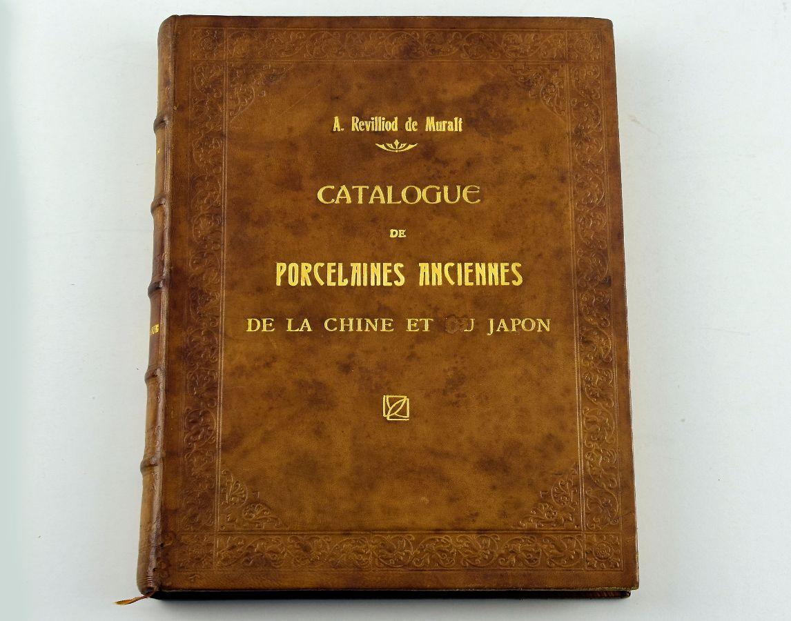 Catálogo sobre a Colecção de Porcelanas da China e do Japão