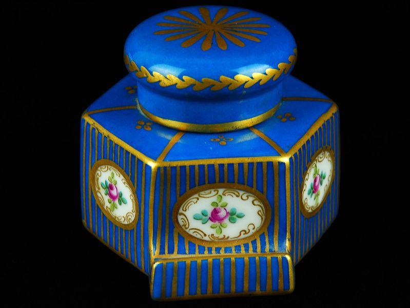 Tinteiro em Porcelana