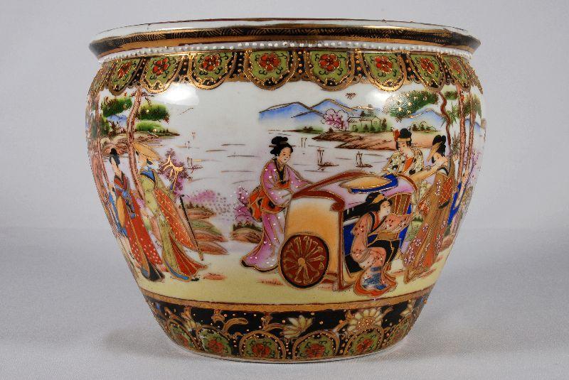 Aquário em porcelana Japonesa