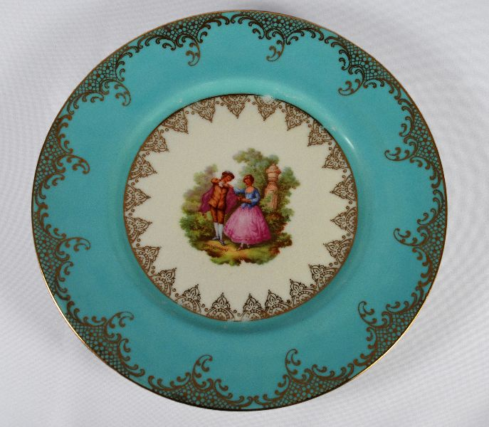 Prato de Porcelana Bavaria
