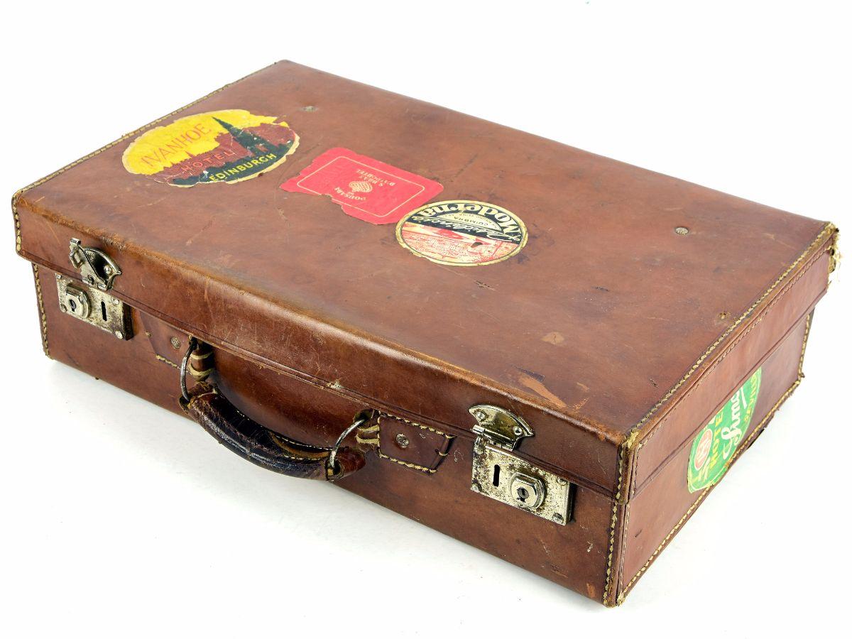 Pequena mala de viagem