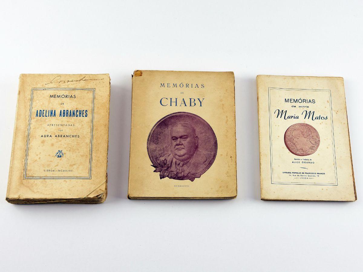 3 Livros de memórias
