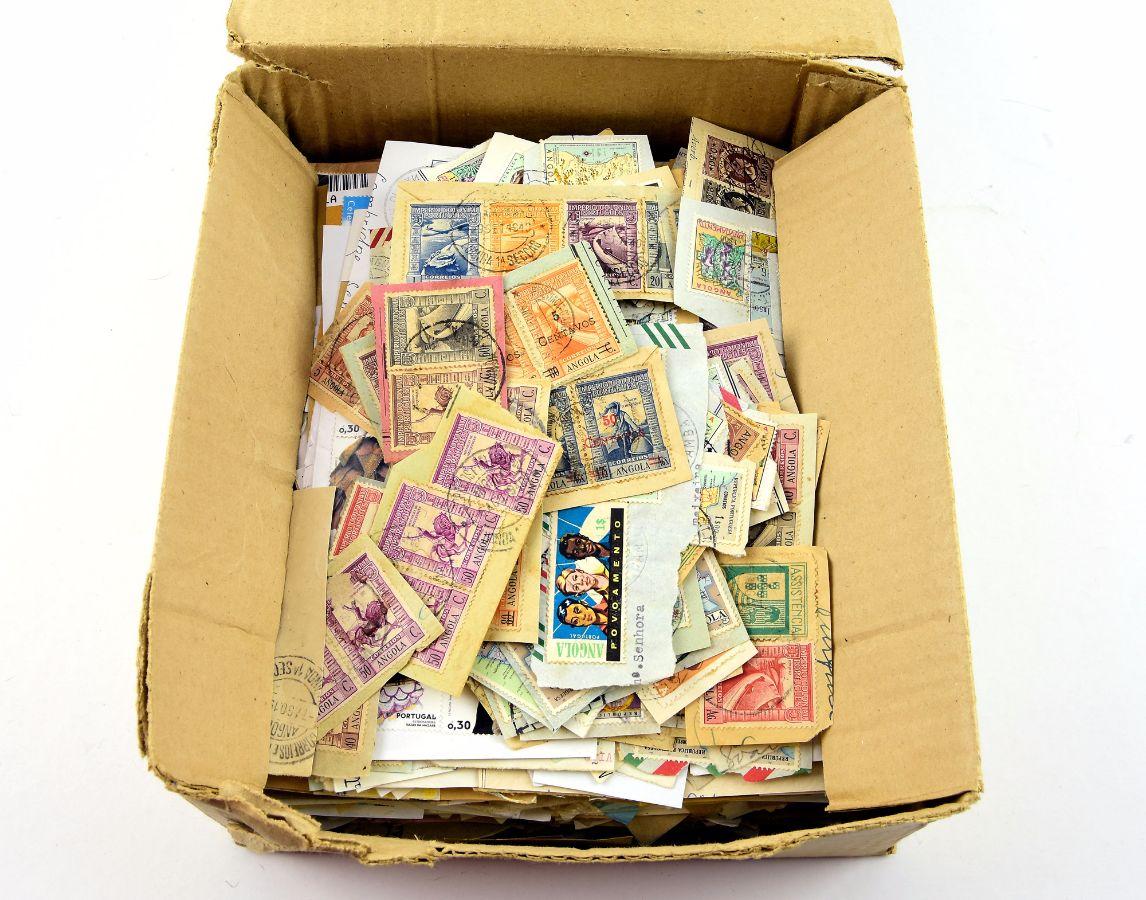 Acumulação de milhares de selos
