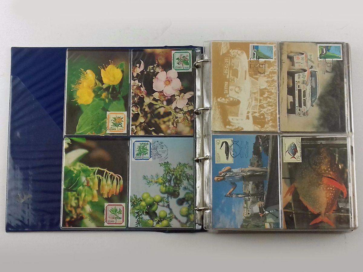 272 Postais com selos