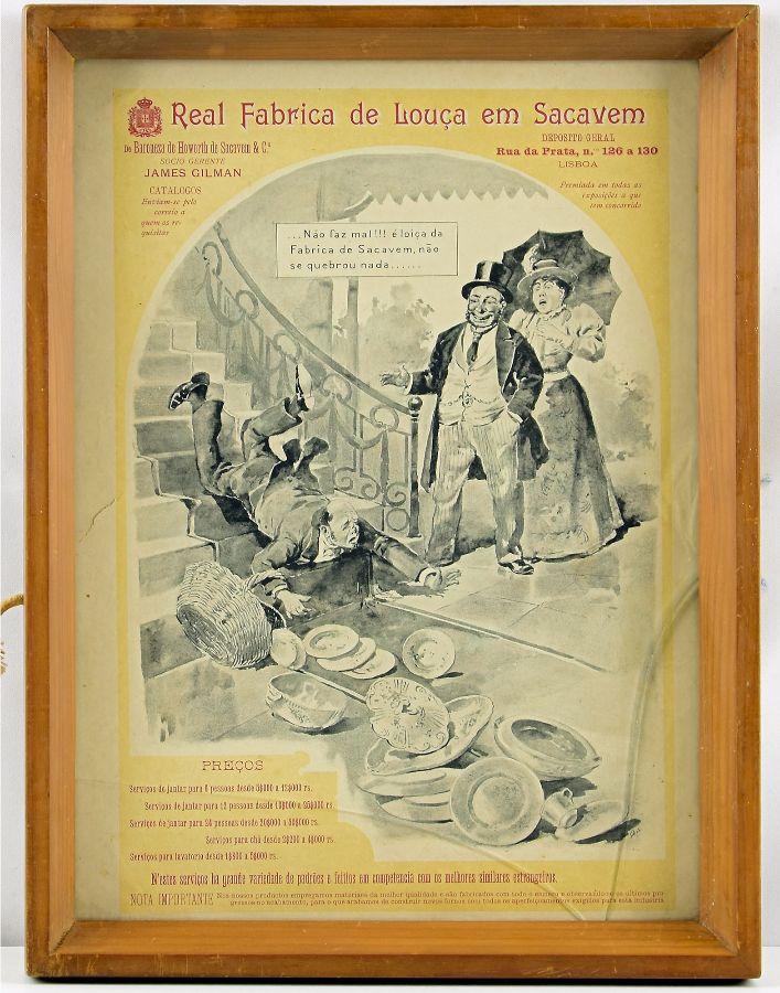 Publicidade Real Fábrica de Louça de Sacavém