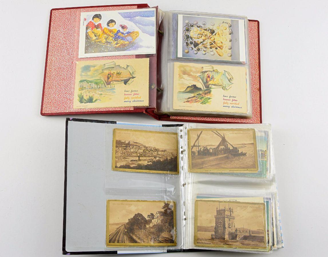 Lote de postais de Portugal e Madeira