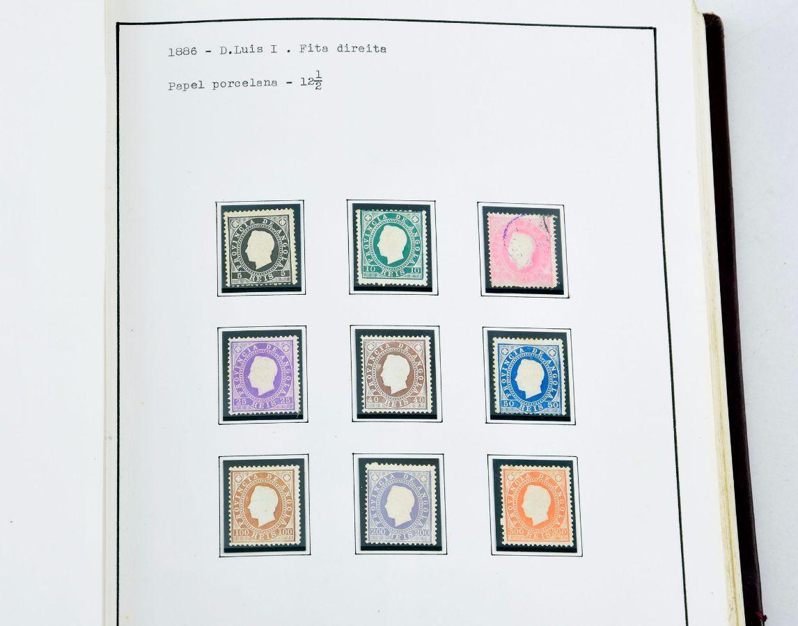 Colecção especializada de selos