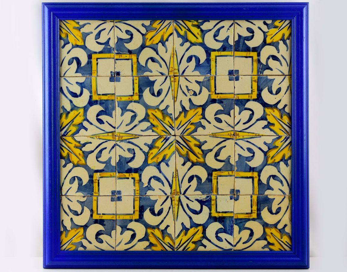 Painel de 16 Azulejos