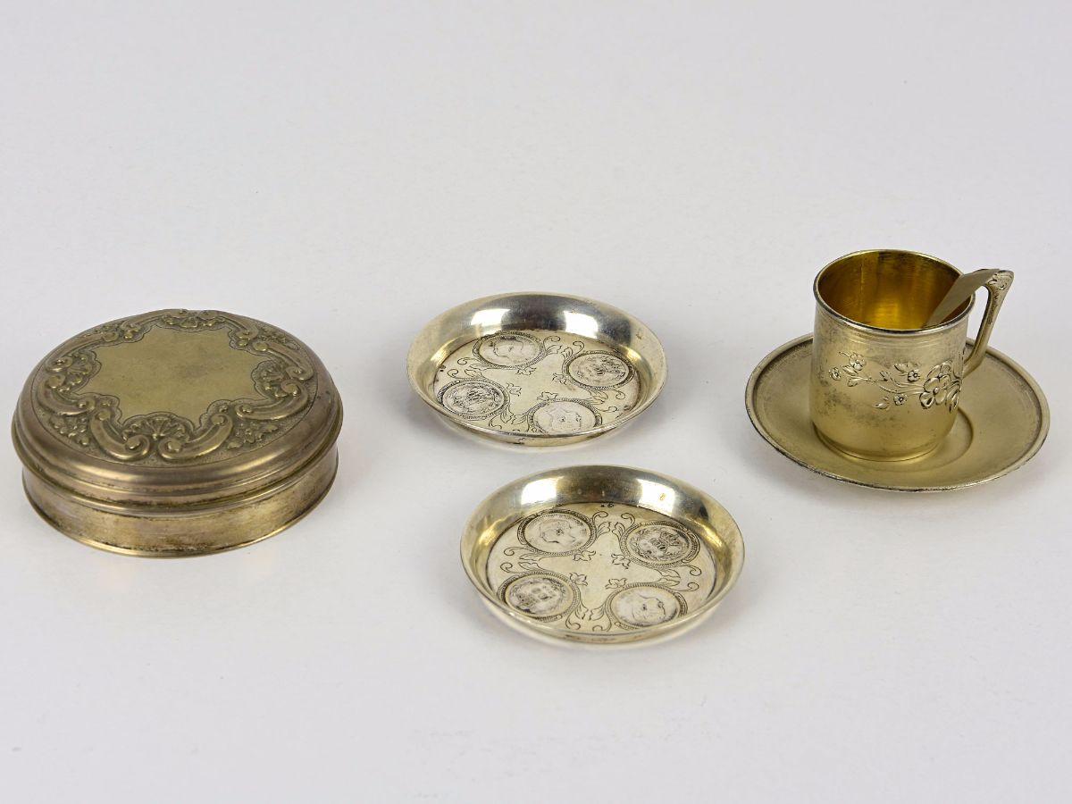 6 Peças em prata