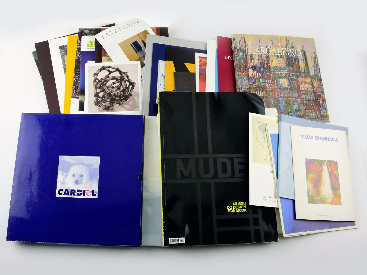 Livros / Livretes sobre Arte