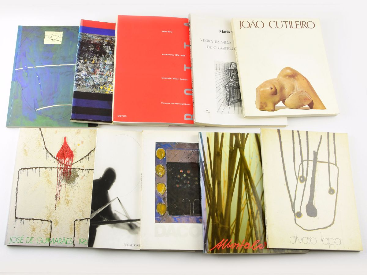 10 Livros de Artistas Portugueses