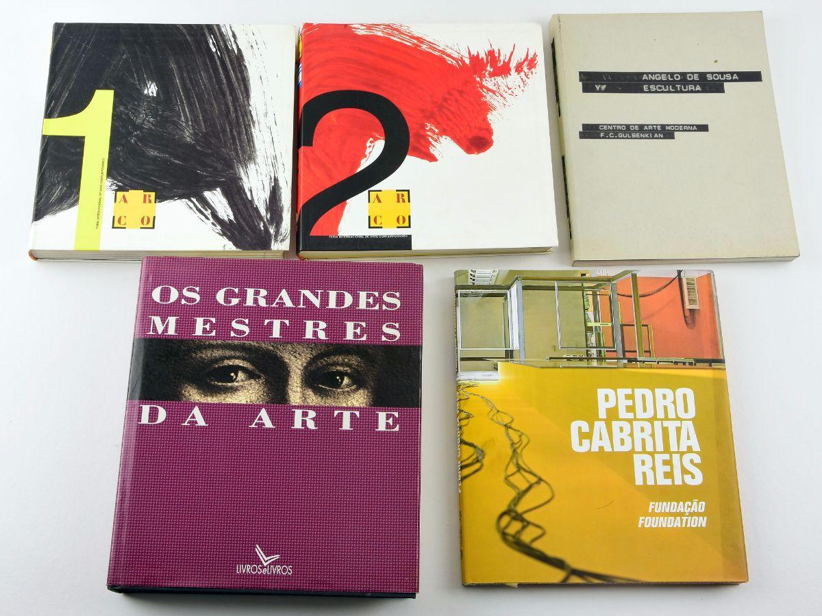 5 Livros de Arte