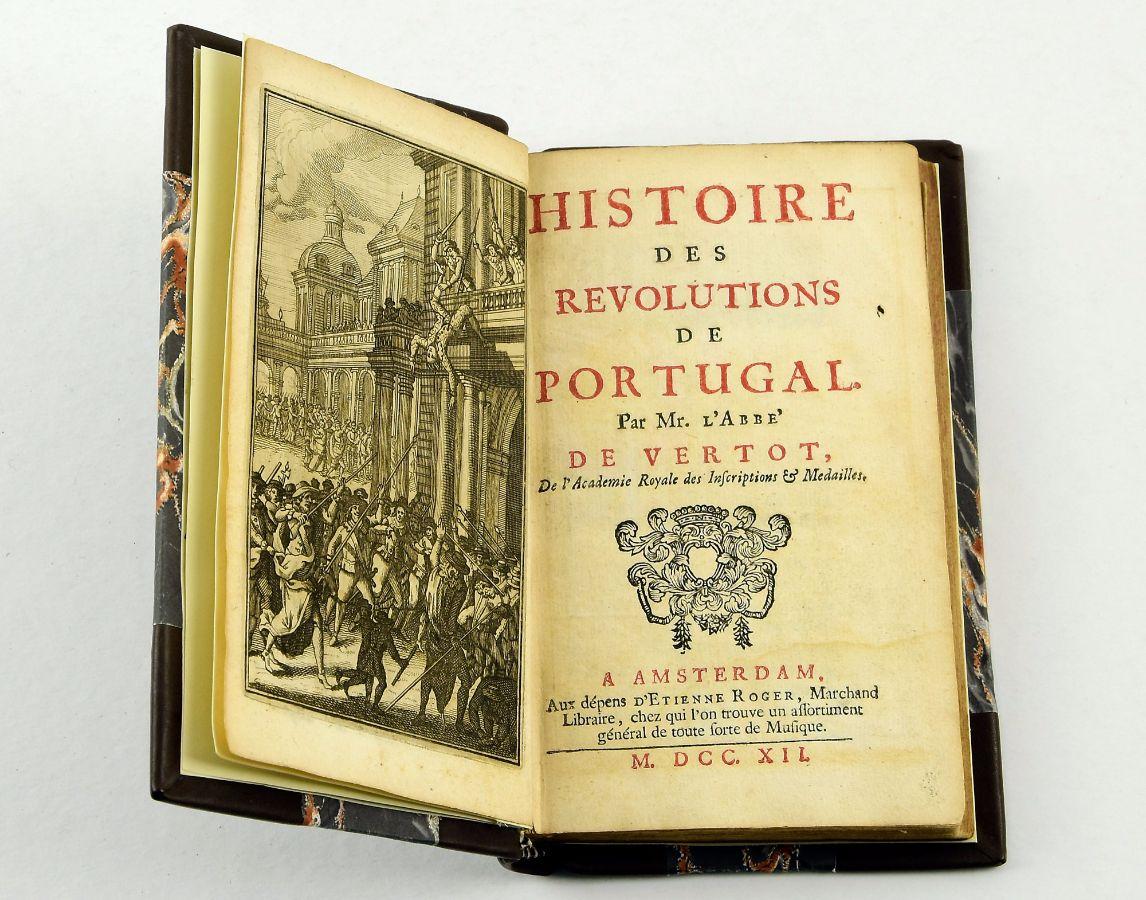 Histoire des Revolutions de Portugal