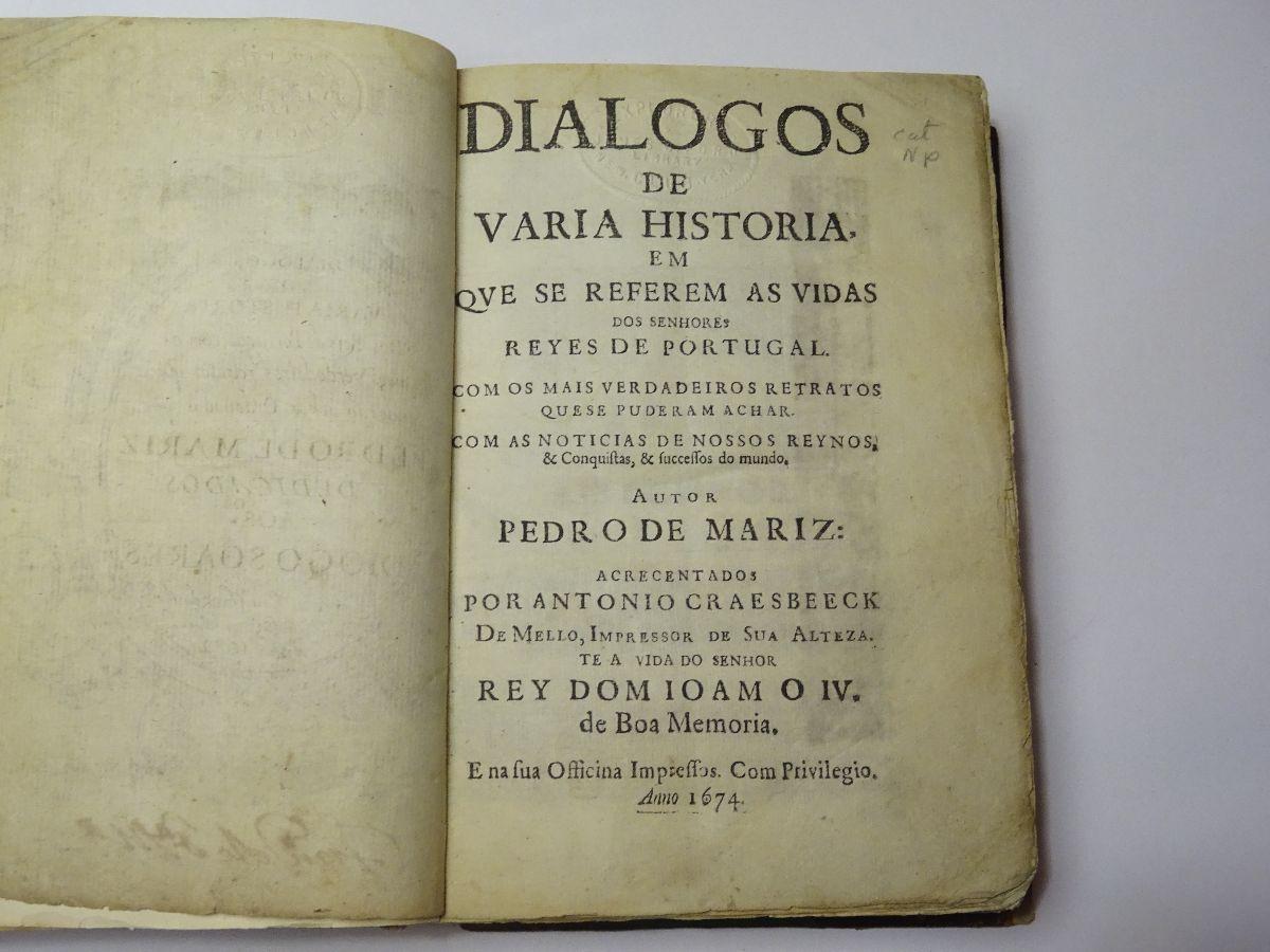 Dialogos de Varia Historia