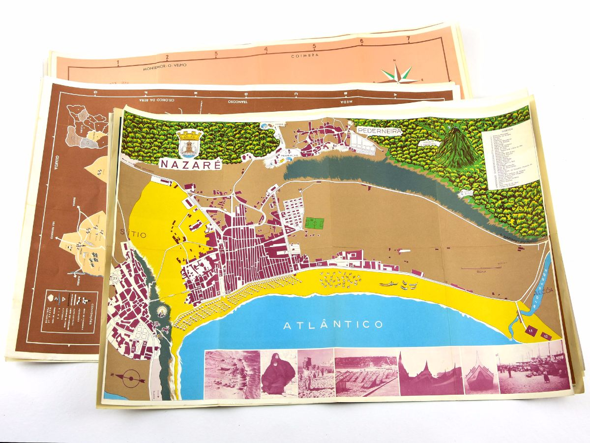 12 Mapas de cidades Portuguesas