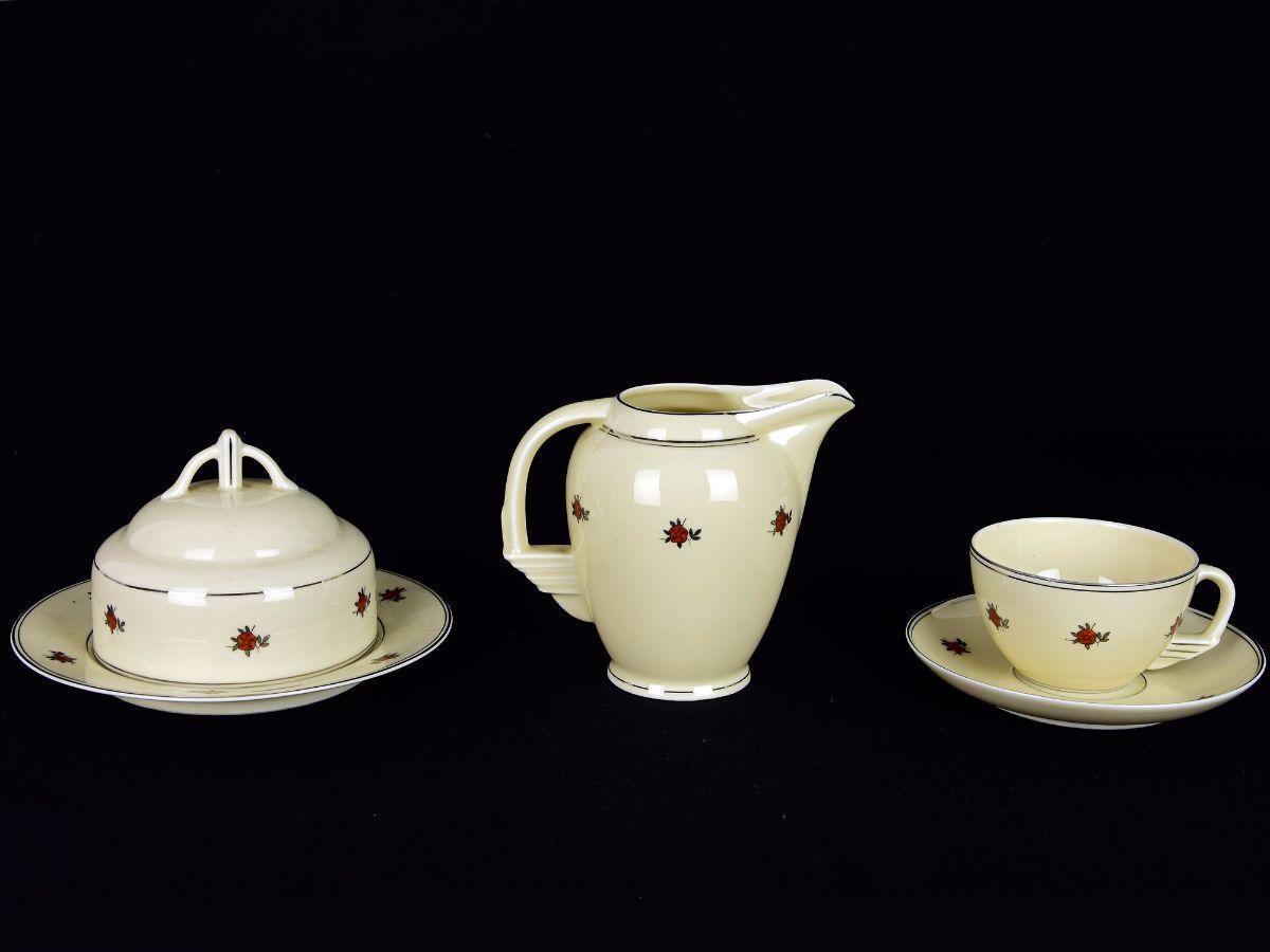 Parte de Serviço de Chá Art Deco