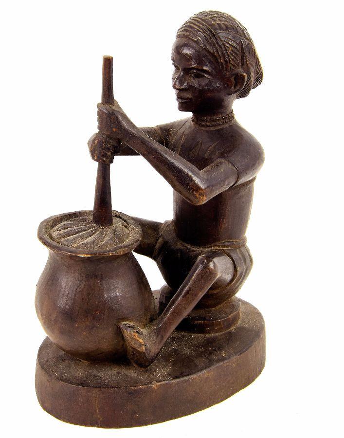 Figura feminina Tchokwé