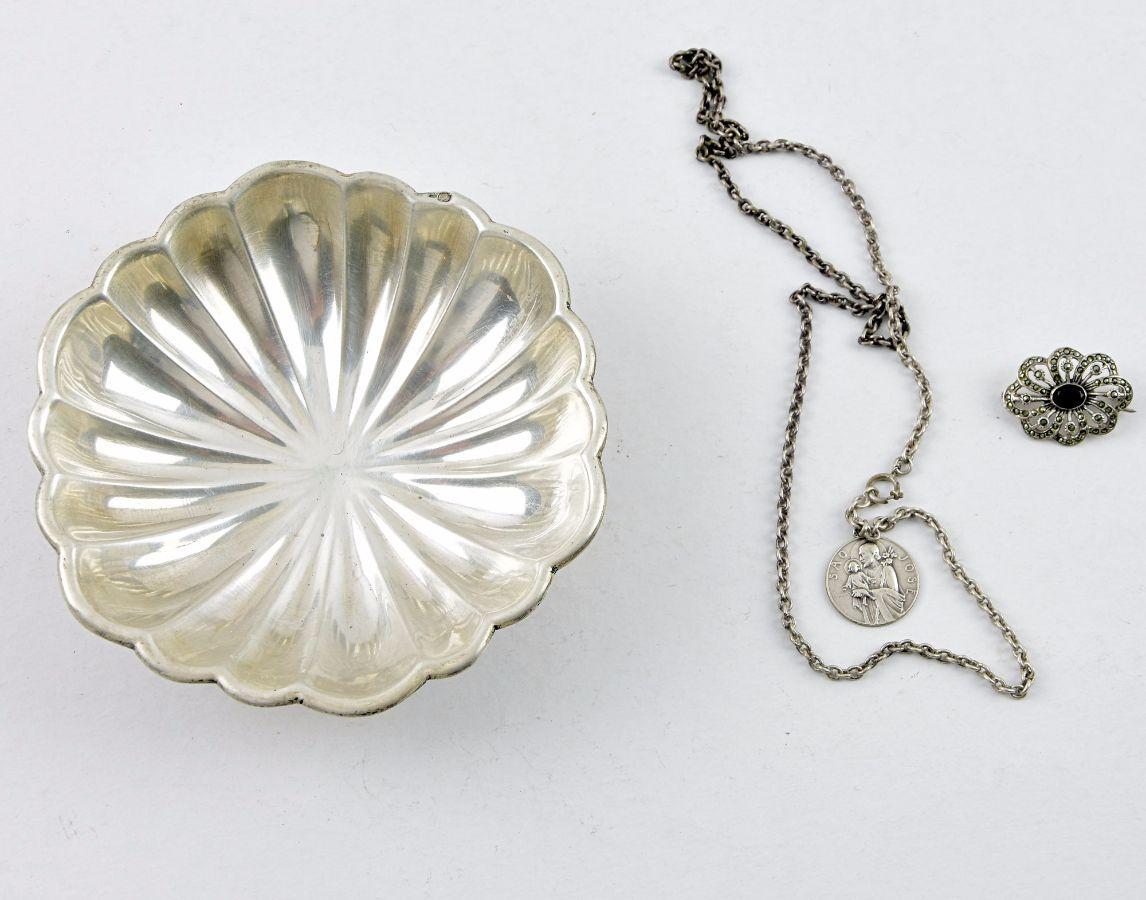3 Peças em prata Portuguesa