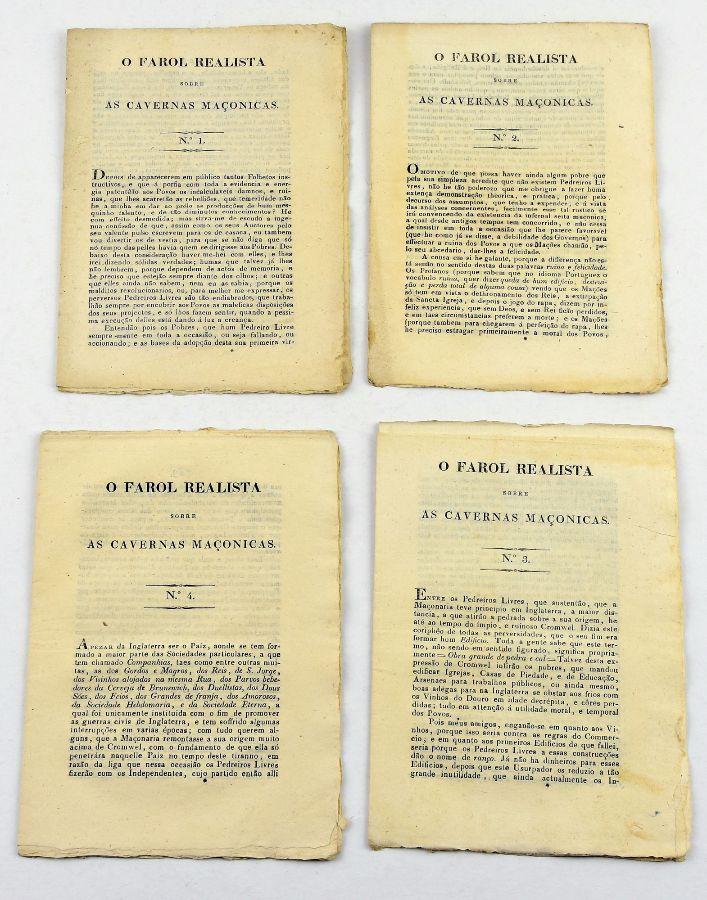Farol Realista contra as Cavernas Maçónicas (1830 - 1831)