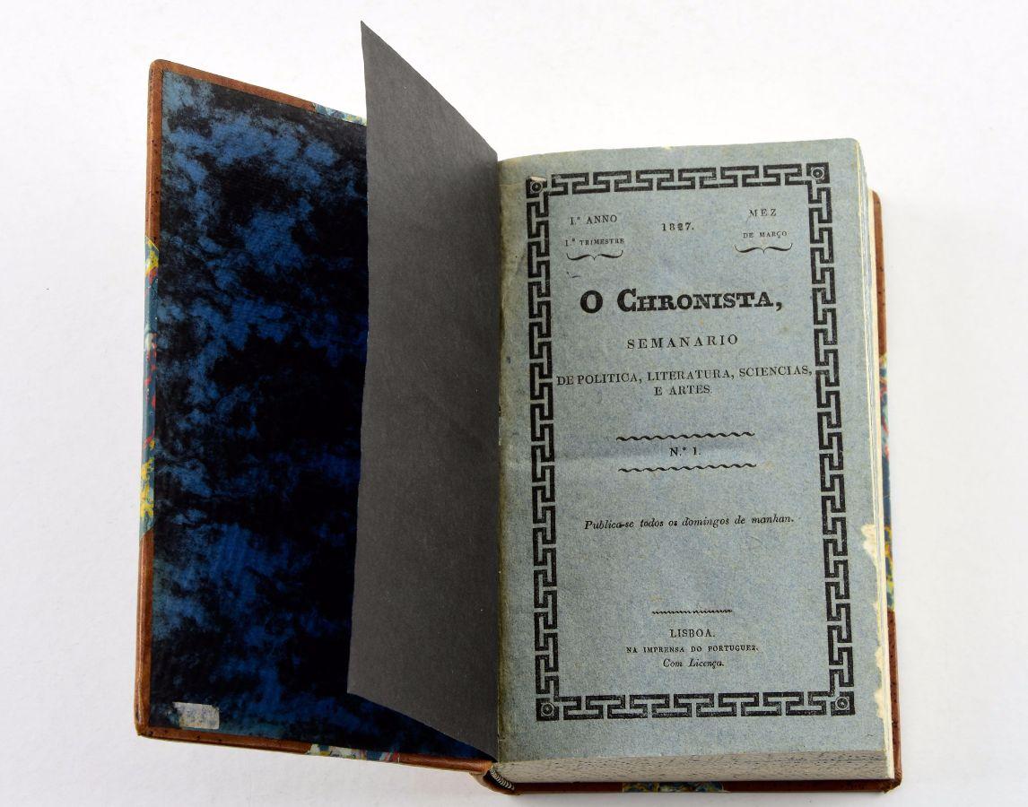 Garrett – O Cronista (1827)