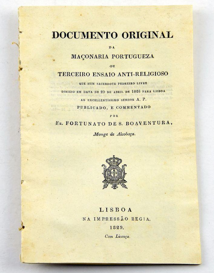 Maçonaria Portuguesa, 1829
